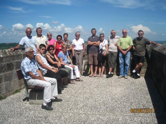 Le groupe à Langres